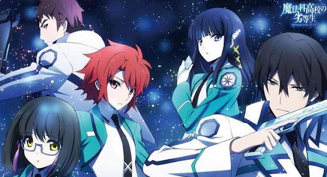 Anime dengan Karakter Utama Cool Mahouka Koukou no Rittousei