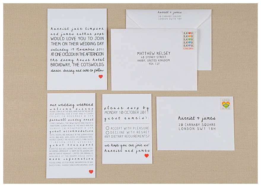 Best Wedding Invitations Ever: Possibly The Best Wedding Stationery Ever