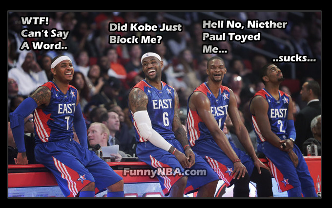 Funny 2013 All Star Game - East Vs West | NBA FUNNY MOMENTS