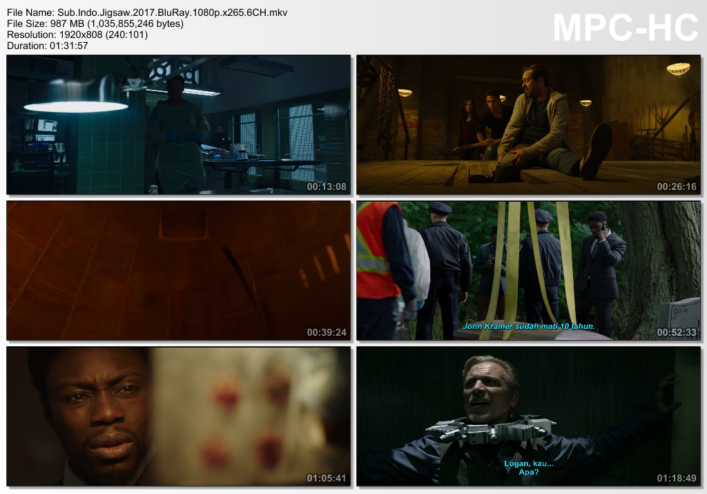 Screenshots Download Film Gratis Saw VIII (2017) BluRay 1080p X265 HEVC 6CH Subtitle Indonesia MKV Nonton Film Gratis Free Full Movie Streaming