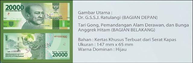 Uang Rupiah Baru Emisi 2016 Resmi Dirilis, Begini Wujudnya