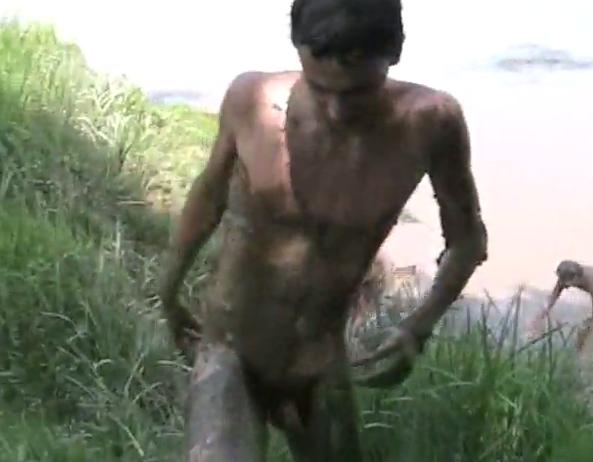 Think, nude guys in the mud can