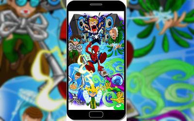 Spider Man Mini Kids - Fond d'Écran en QHD pour Mobile
