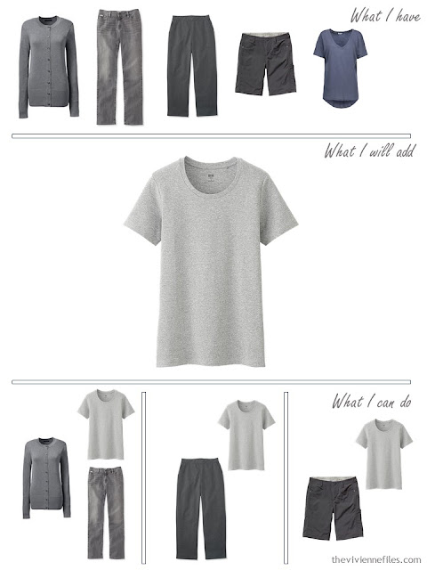 how to add a grey tee shirt to your wardrobe