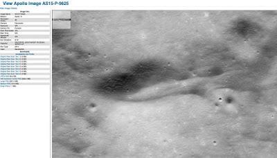 Foto AS15-P-9625 ad alta risoluzione scattata dall'Apollo 15
