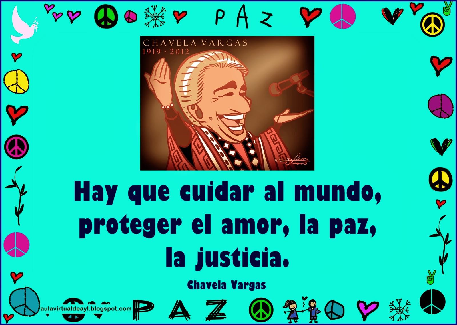 Aula Virtual De Audición Y Lenguaje: Frases De La Paz
