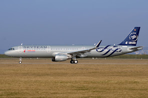 A321 for China Eastern in Skyteam c/s