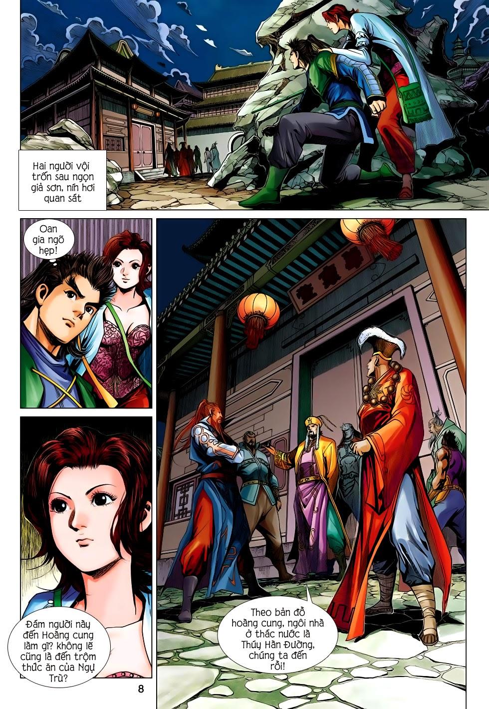 Anh Hùng Xạ Điêu anh hùng xạ đêu chap 56: tuyệt tình vô nghĩa lãnh huyết ác niệm trang 8