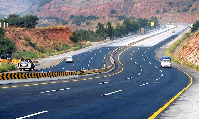 Image Attribute: Newly expanded M2 Motorway in Pakistan