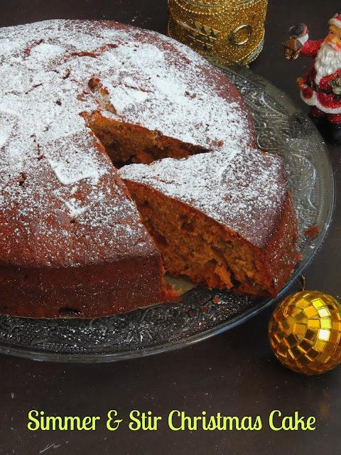 Simmer & Stir Christmas Cake