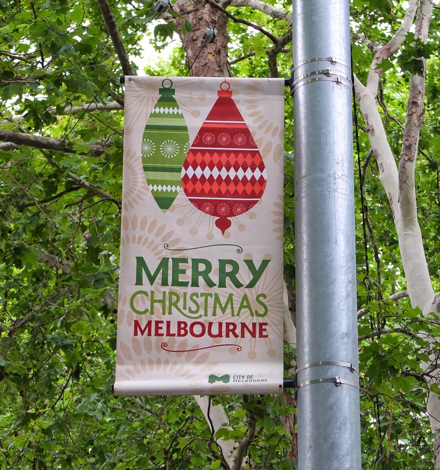 Christmas Trees Melbourne: A Strong Belief In Wicker: A Melbourne Christmas
