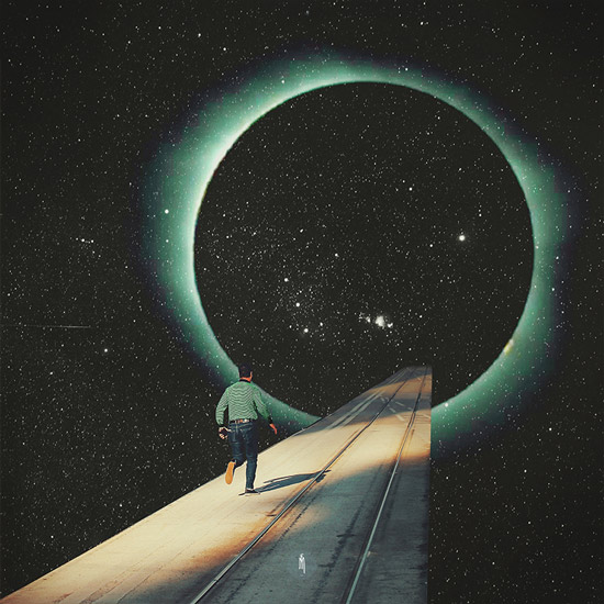 """Escaping into the Void"" by Frank Moth 