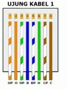 Cara Termudah Memasang Kabel UTP Tipe Cross Dan Tipe Straight