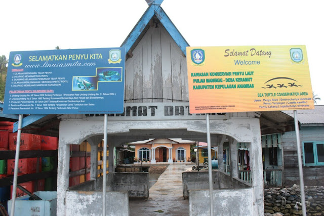 Pulau Keramut Jemaja Anambas