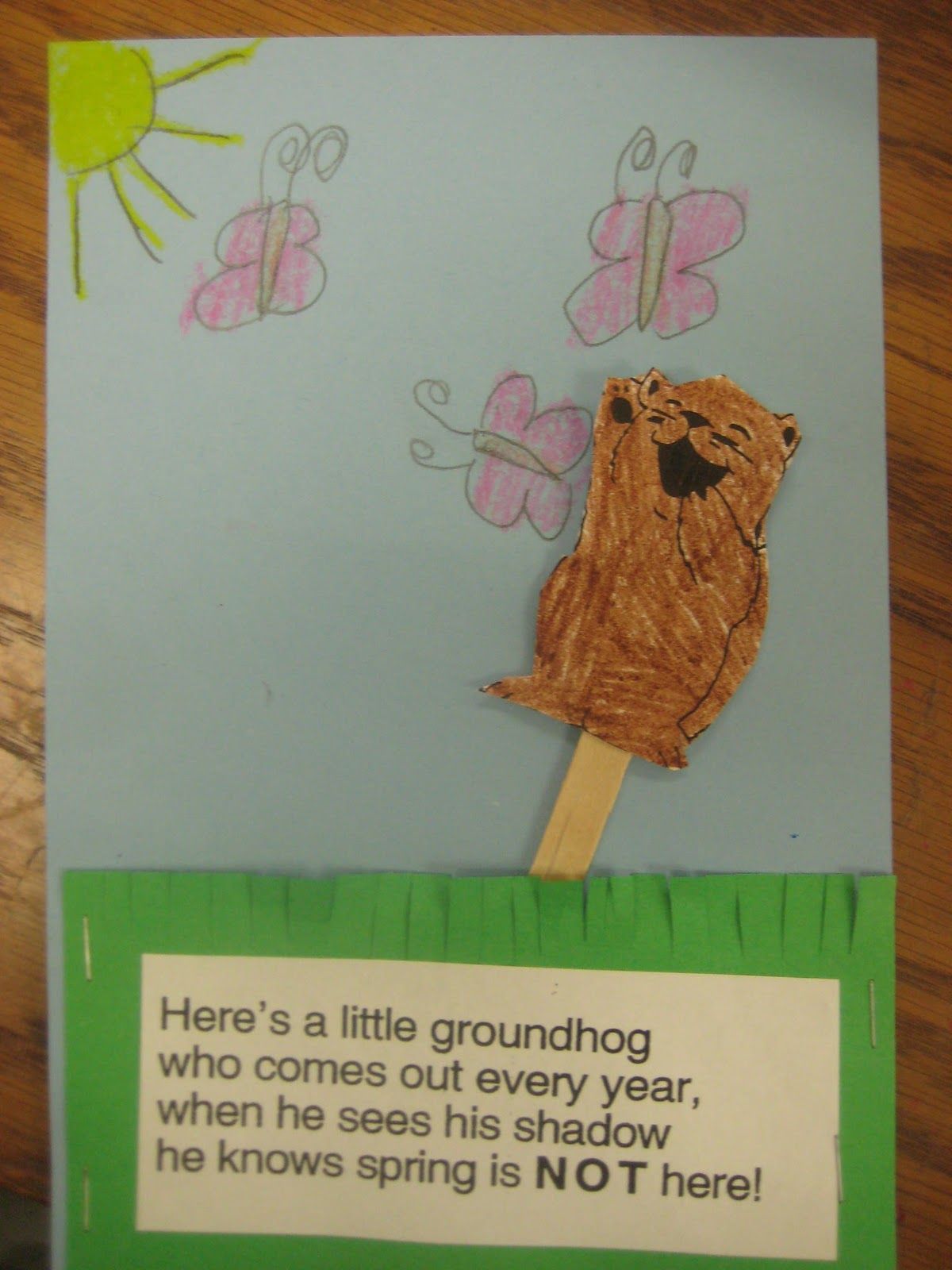 Kindergarten Smiles Groundhog Day