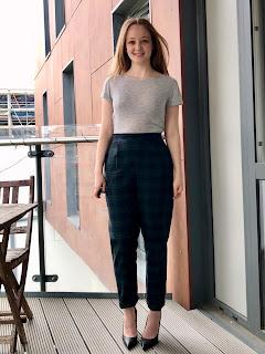 Tartan Wool Ailakki Trousers