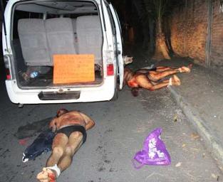 Dejan 11 ejecutados con narco-mensaje en Veracruz