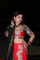 Sirisha Dasari in Red Ghagra Backless Choli ~  018.JPG