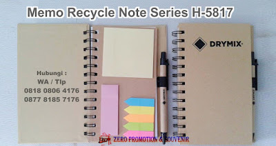 Recycle Note Series H-5817, NOTES POS IT & PEN H-5817, Memo Go Greeen, Kertas Memo Pos it