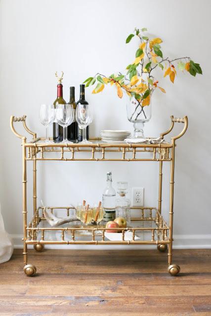 stylish bar carts design indulgence. Black Bedroom Furniture Sets. Home Design Ideas