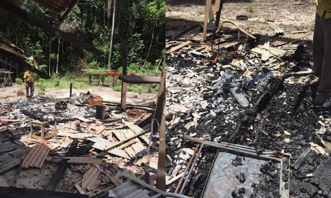 Idoso denuncia ameaças e destruições em suas terras no Jardim do ouro, em Itaituba