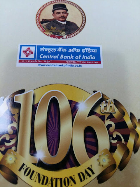 106 Foundation Day Central Bank Of India