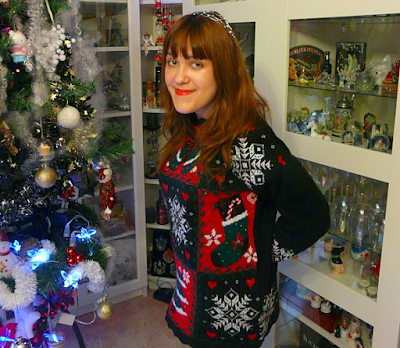 mon pull de Noël