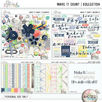 Make It Count Collection by Akizo Designs