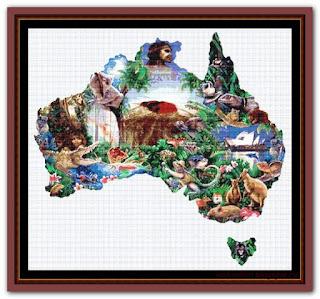 """""""Australia"""" Witchykitt Designs"""