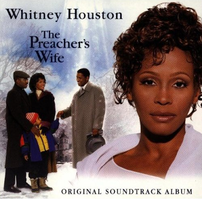 The Preacher's Wife Album Cover with Whitney Houston