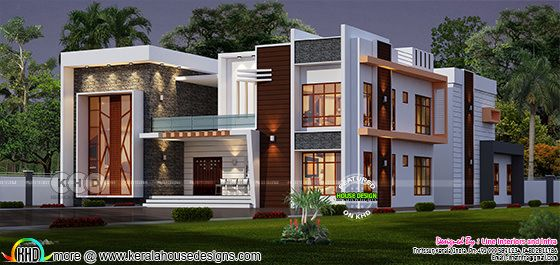 Elevated Contemporary home plan