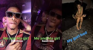 Tekno Goes Clubbing With Girlfriend, Lola Rae, Amidst Breakup Rumuors
