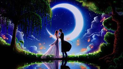 Bright-good-night-couples-kiss-full-hd-image
