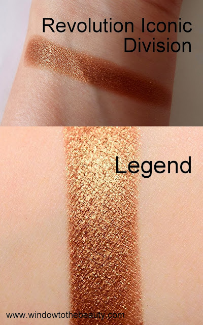 Makeup Geek Legend dupes