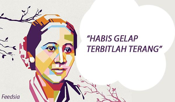 Raden Ajeng Kartini atau biasa disebut dengan R Biografi Singkat RA KARTINI Pahlawan Habis Gelap Terbitlah Terang