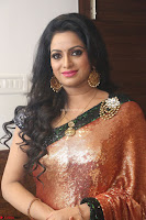 Udaya Bhanu lookssizzling in a Saree Choli at Gautam Nanda music launchi ~ Exclusive Celebrities Galleries 054.JPG
