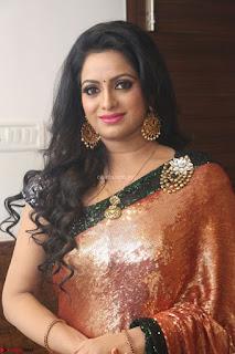 Udaya Bhanu lookssizzling in a Saree Choli at Gautam Nanda music launchi ~ Exclusive Celebrities Galleries 054.JPG
