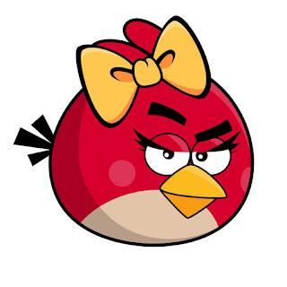 Angry Birds: Stickers, Toppers o Etiquetas para Imprimir Gratis.