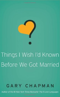 http://www.amazon.com/Things-Wish-Known-Before-Married/dp/0802481833/ref=sr_1_1?ie=UTF8&qid=1454150033&sr=8-1&keywords=things+i+wish+i+knew+before+i+got+married