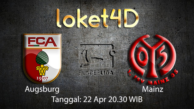 BOLA88 - PREDIKSI TARUHAN BOLA AUGSBURG VS MAINZ 22 APRIL 2018 ( GERMAN BUNDESLIGA )