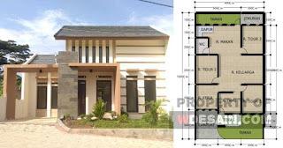 Desain Rumah 9x12 Mewah 3 Kamar Desain Rumah Minimalis