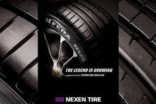 El Porsche Macan también montará un neumático Nexen en primer equipo