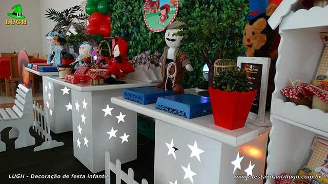 Decoração festa infantil Chapeuzinho Vermelho - Aniversário