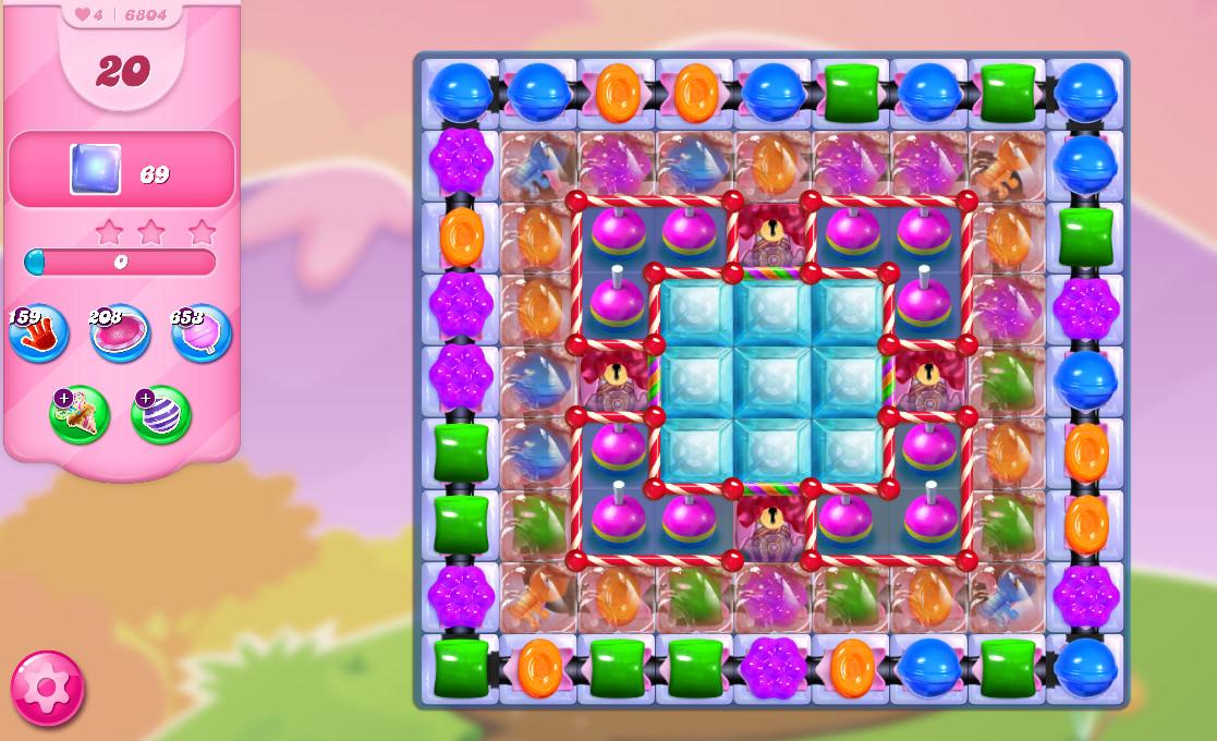 Candy Crush Saga level 6804