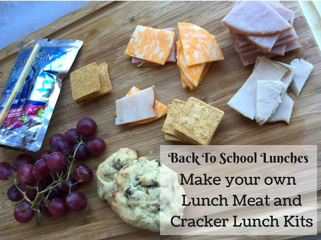 DIY Lunch Meat & Cracker Lunch Kits
