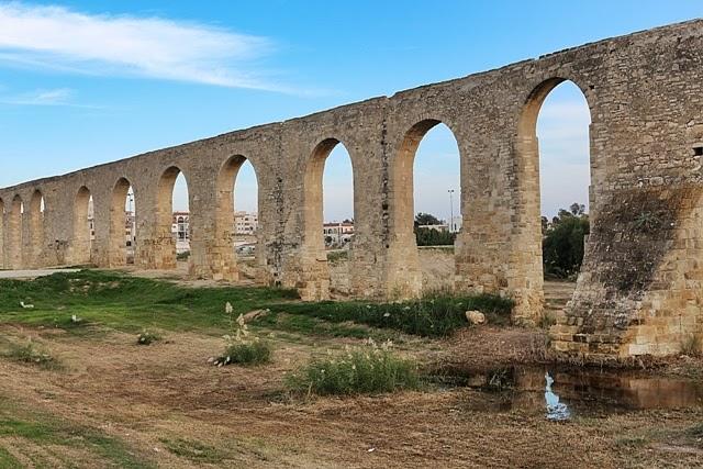 Acueducto de Kamares en Lárnaca