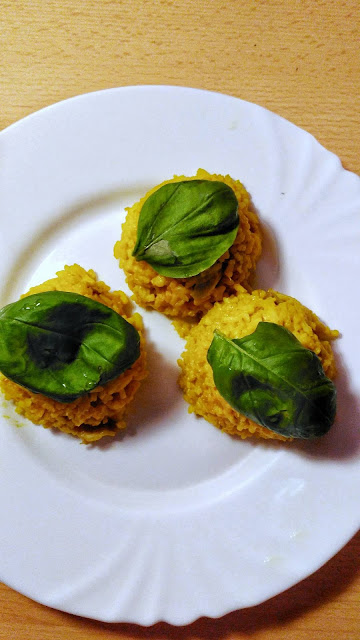 Kari rýže na houbách