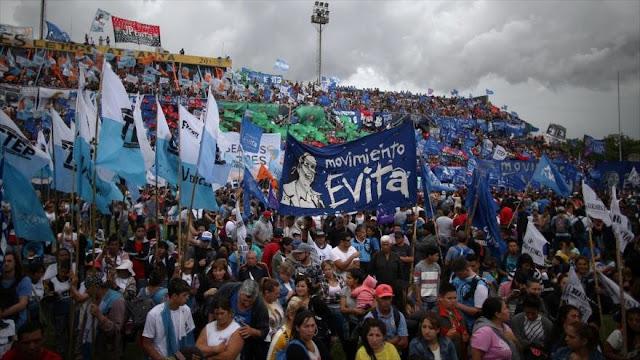 Argentinos protestan contra cumbre del G20, Macri y FMI