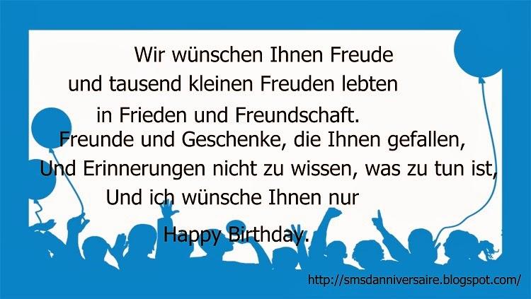 joyeux anniversaire cousine en allemand