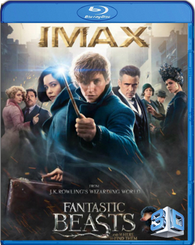 Fantastic Beasts and Where to Find Them [2016] [BD50] [Latino] [3D]